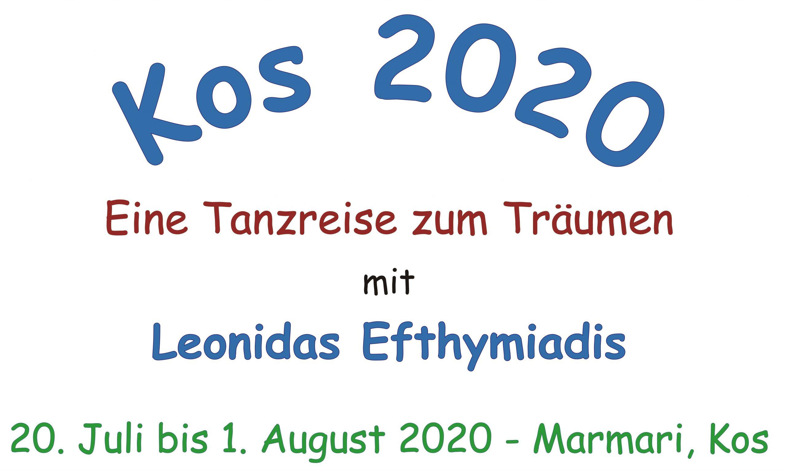 "Tanzreise ""Kos 2020"" (DE) @ Michális Apartments"