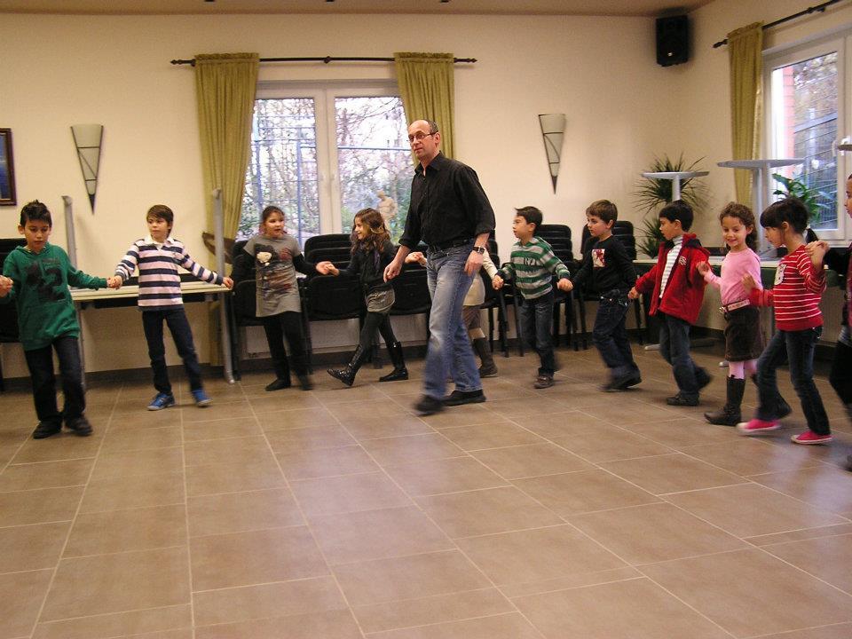Mit der Kinderabteilung der griechische Gemeinde Ratingen - 2011