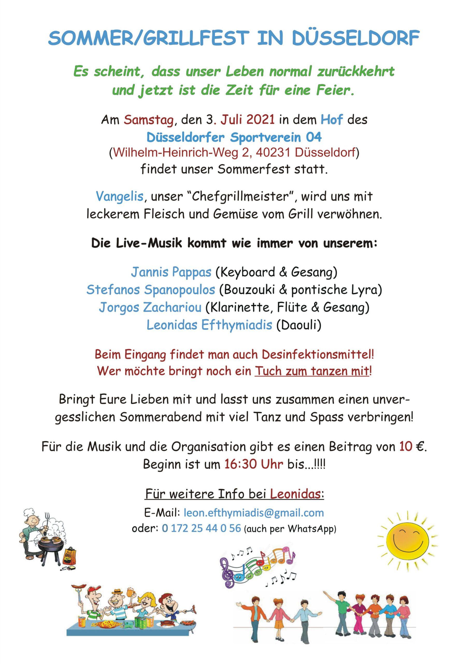 Sommer-Grillfest 2021