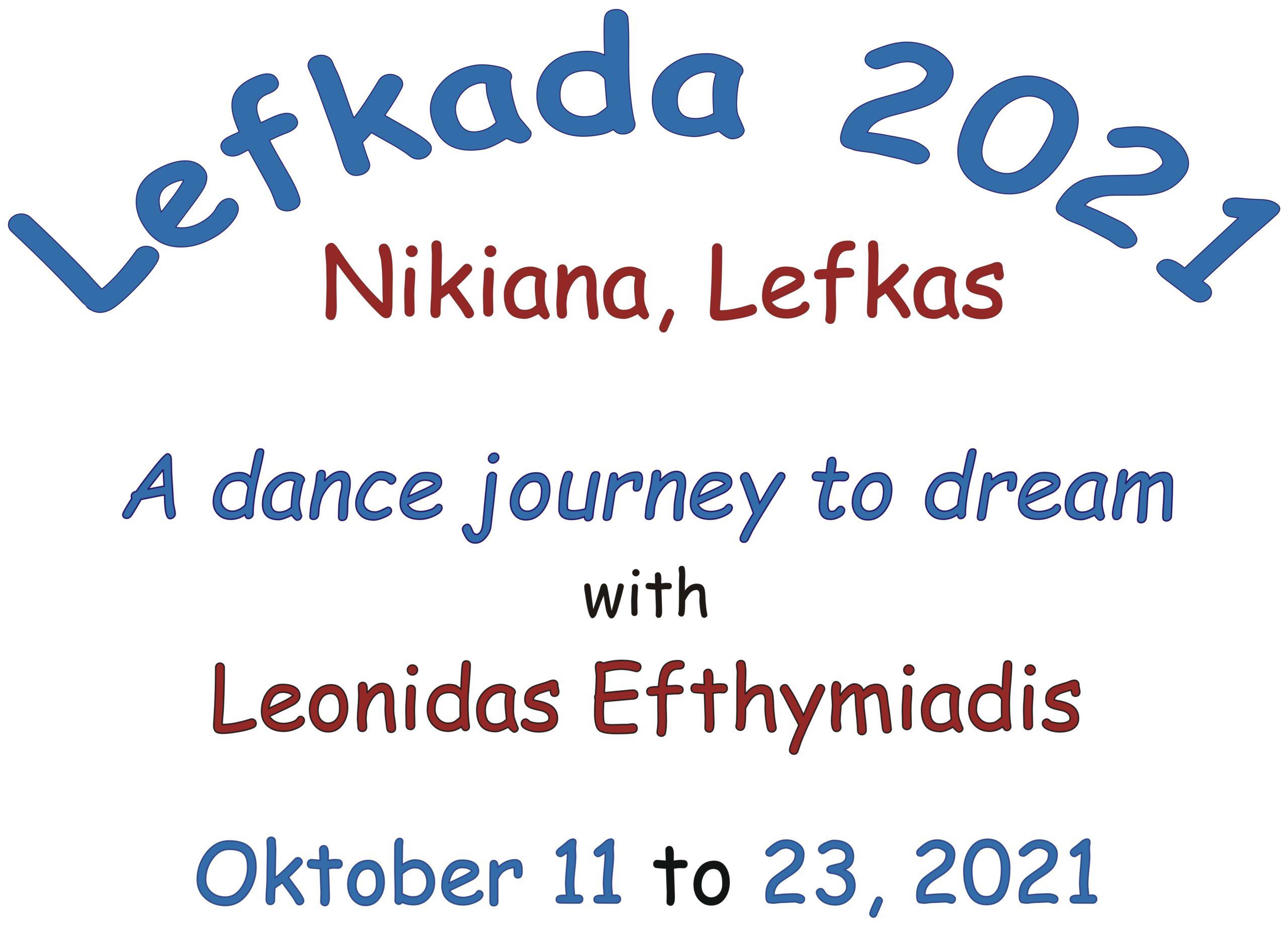 "Dance journey ""Lefkada 2021"" @ Nikiana / Lefkas"